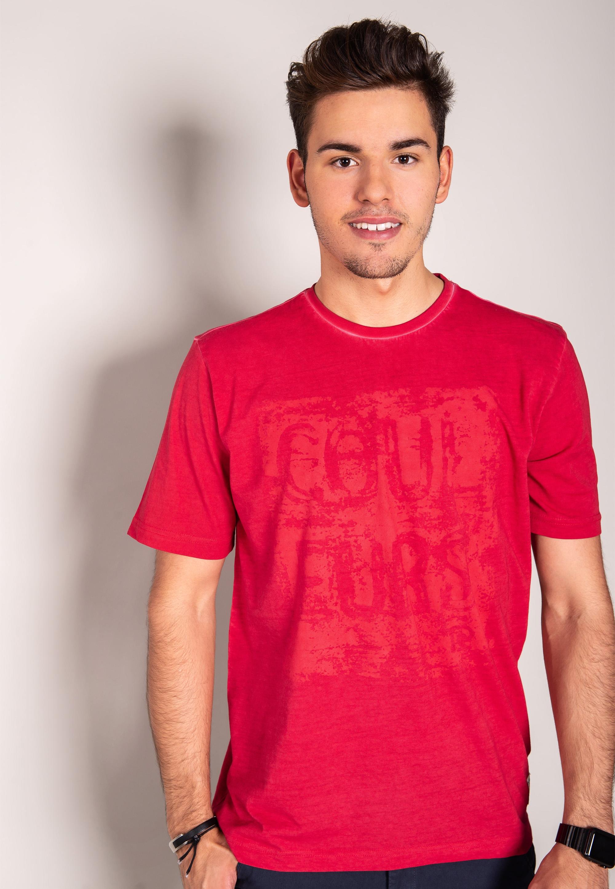 e34574d68b T-shirt z nadrukiem PIERRE CARDIN - Nico - Odzież i Obuwie