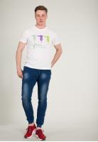 Koszulka z nadrukiem Trussardi Jeans