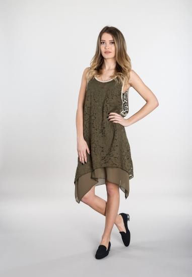 Koronkowa sukienka -...