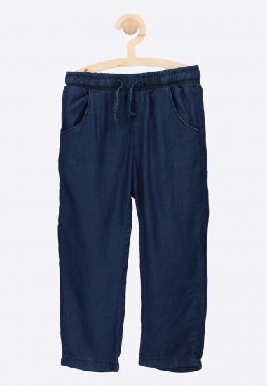 Spodnie o luźnym kroju...