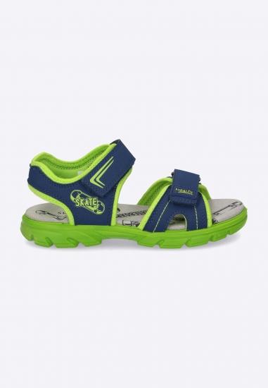 Dwukolorowe sandały...