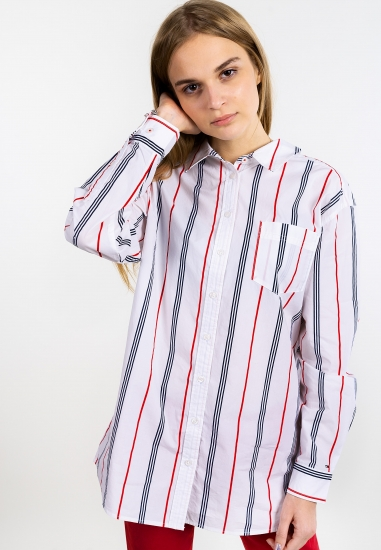 Koszula oversize w paski...