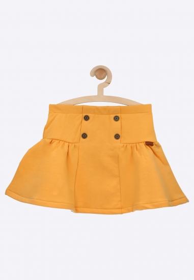 Dzianinowa spódnica z guzikami Boboli