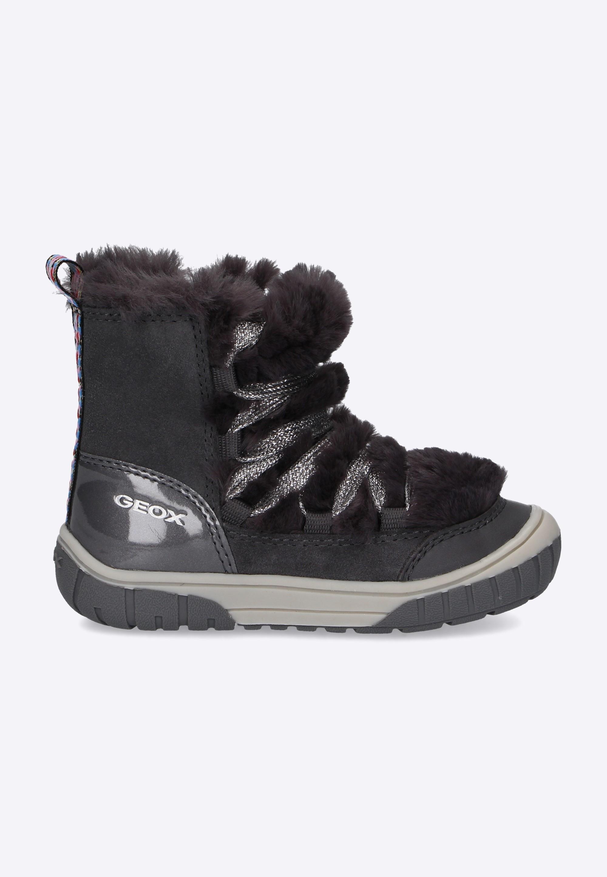 f60cb2296c806 Śniegowce dziewczęce GEOX B OMAR G. A - Nico - Odzież i Obuwie