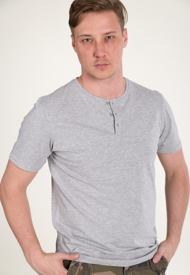 Koszulka basic z krótkim...