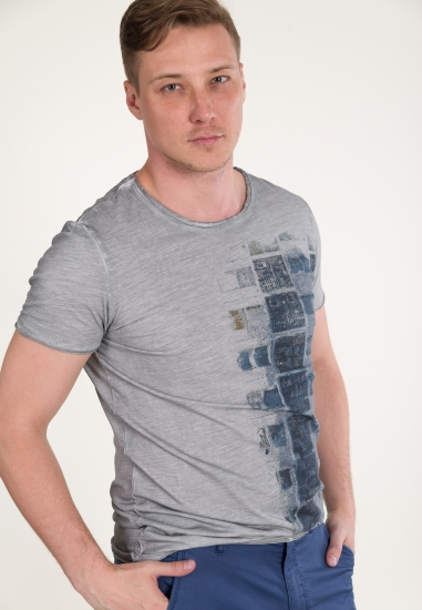 Bawełniana koszulka z...