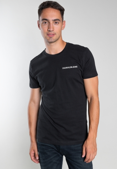T-shirt basic z napisem...