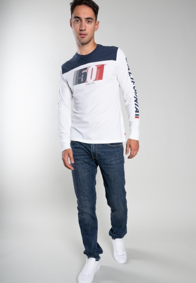 Bawełniany t-shirt Levi's -...