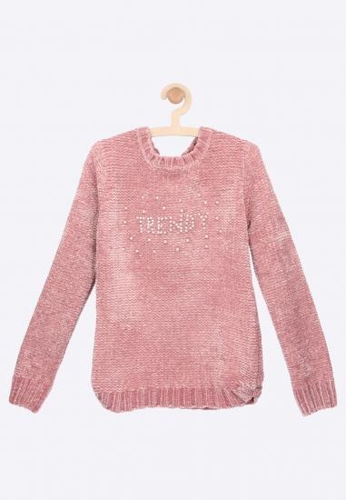 Sweterek z napisem Losan -...