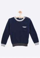 Sweter z łatkami na łokciach I Do
