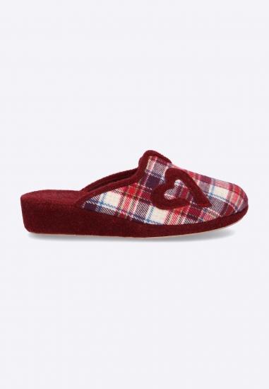 Pantofle w kratkę 3Rose -...