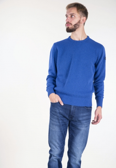Sweter z dodatkiem wełny merino i kaszmiru Armata Di Mare