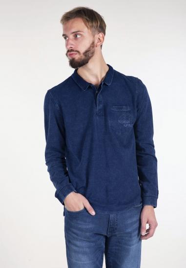 Koszulka jeansowa polo Pioneer