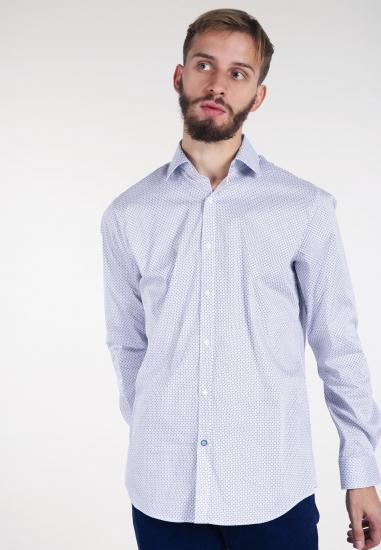 Wzorzysta koszula modern...