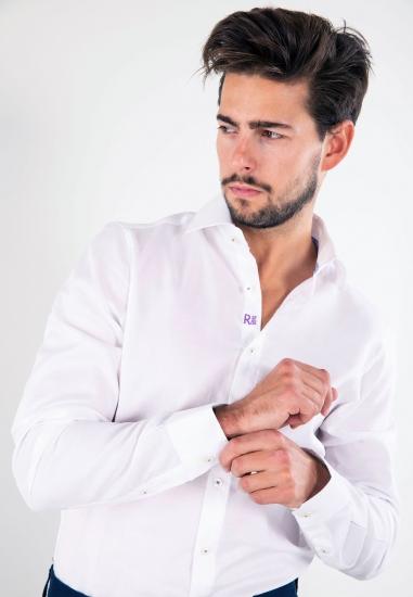 Bawełniana koszula slim fit Redmond