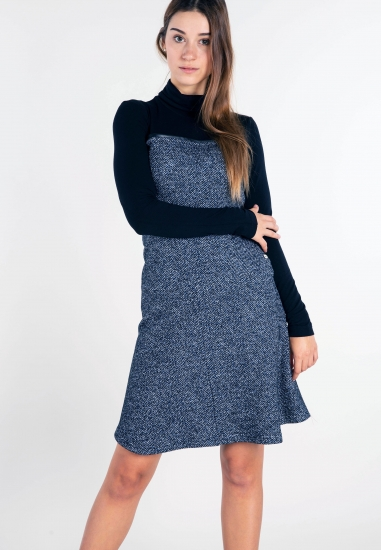 Tweedowa sukienka Penny...