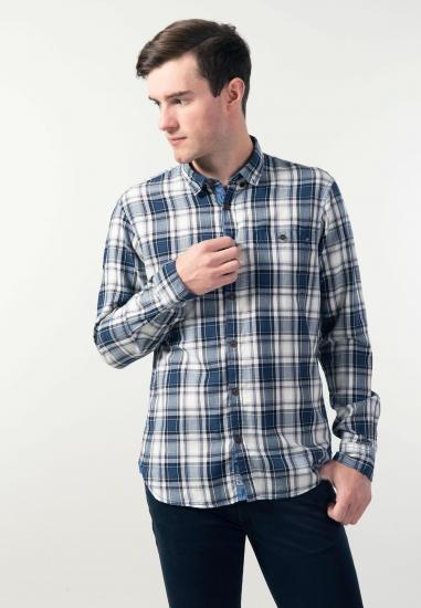 Koszula regular fit w kratkę Pioneer