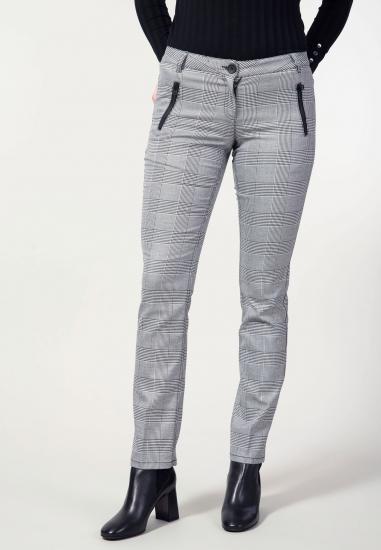 Spodnie cygaretki w pepitkę Kenny S