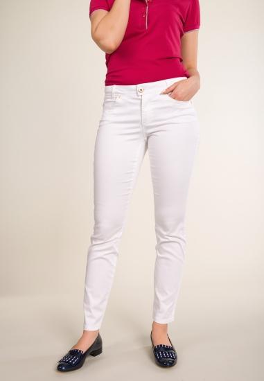 Spodnie STREET ONE - 001BIALY