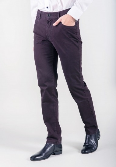 Spodnie slim fit Bugatti -...