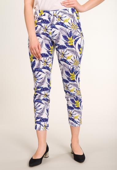 Wzorzyste spodnie CONTE OF...