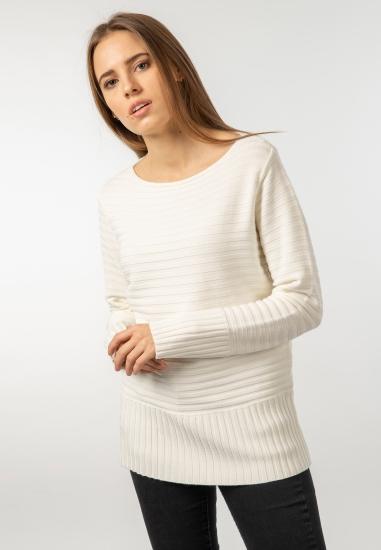 Sweter w prążki Main&Land