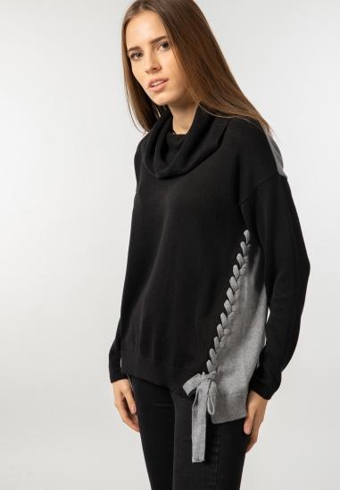 Dwukolorowy sweter Kenny S
