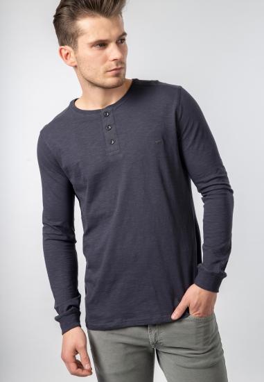 Koszulka bawełniana z długim rękawem Carrera