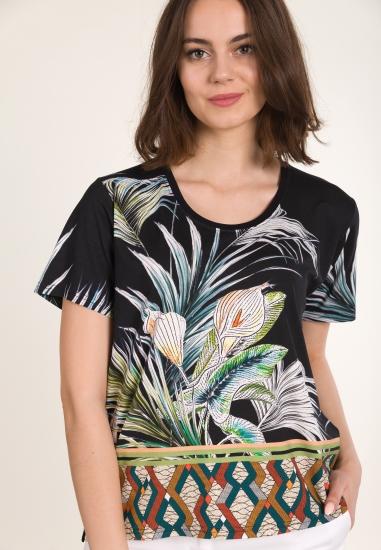 Koszulka z letnim wzorem MAIN&LAND