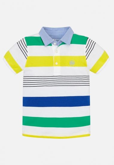 Koszulka polo w paski Mayoral