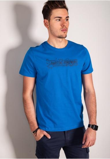 T-shirt z nadrukiem ASCOT...