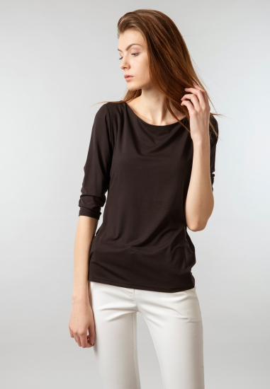 Koszulka basic damska Eks -...