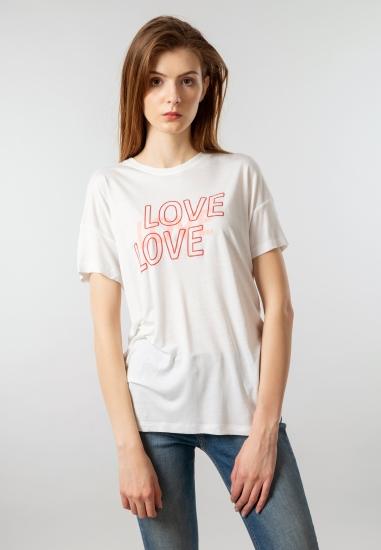 Koszulka damska z wiskozy z...
