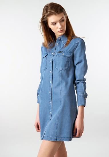 Sukienka jeansowa Calvin Klein