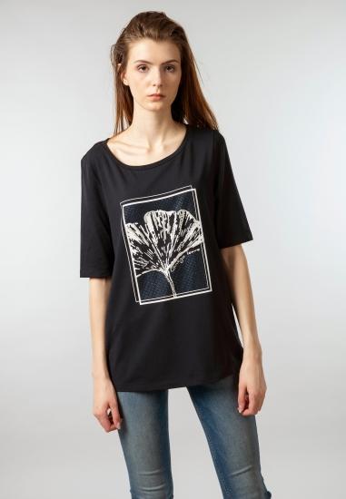 Koszulka damska z nadrukiem Samoon