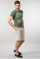 T-shirt męski z nadrukiem Garcia Jeans