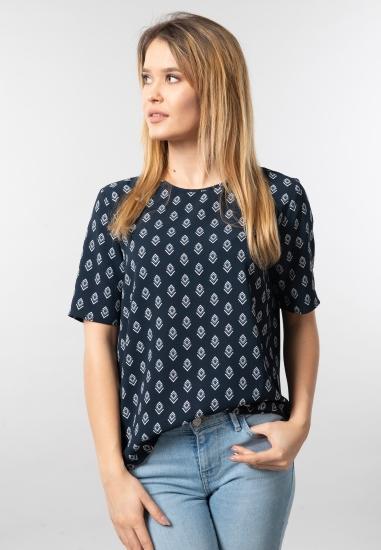 Wzorzysta bluzka Jacqueline De Yong