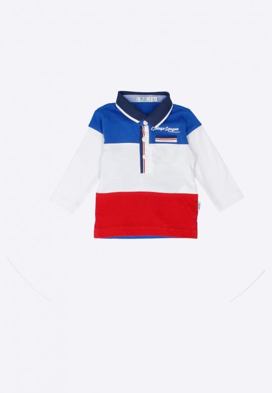 Koszulka polo z długimi rękawami Melby