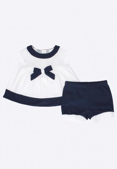 Komplet dla dziewczynki bluzka + spodenki Melby