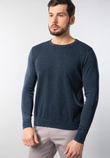 Sweter męski z efektem...