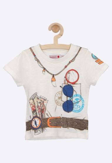 Koszulka z nadrukiem Boboli...