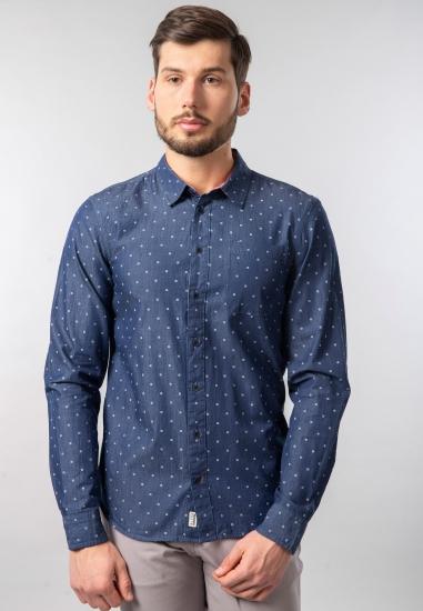 Męska koszula we wzory slim fit Blend