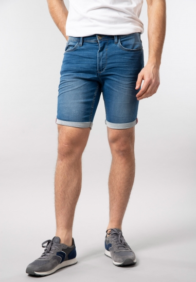 Męskie bermudy jeansowe...