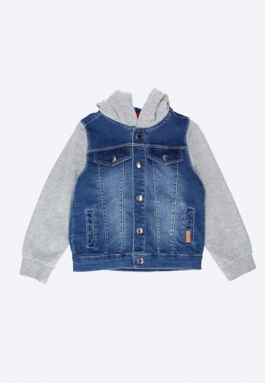 Chłopięca kurtka jeansowa...