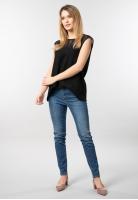 Jeansy damskie slim fit Trussardi Jeans