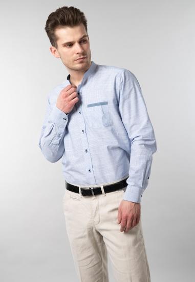 Koszula męska ze stójką...