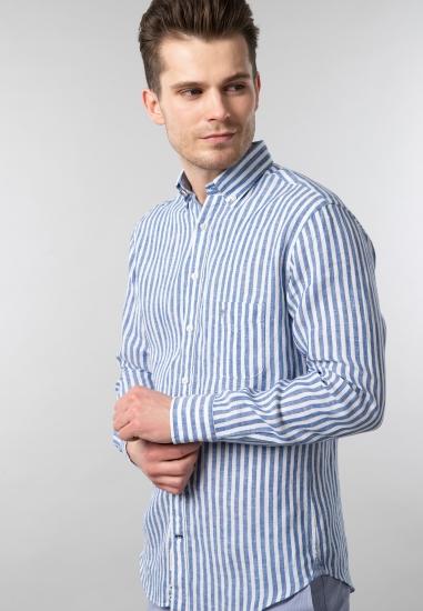 Męska koszula lniana slim fit Fynch Hatton