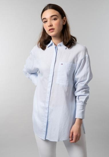 Koszula damska oversize w paski Tommy Jeans