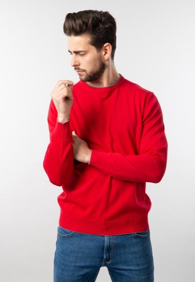 Sweter męski basic D'uomo -...