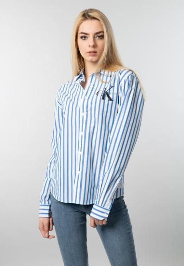 Koszula damska w paski oversize Calvin Klein